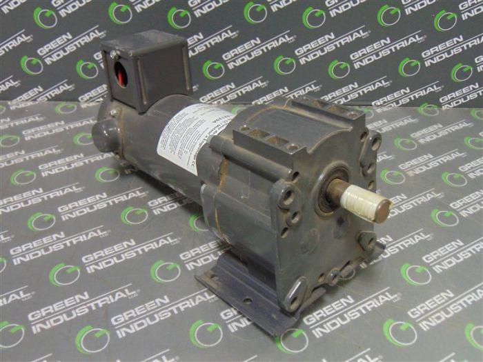 Dayton 4Z129A Industrial DC Gear Motor 1 8 HP 90V 54 RPM Used