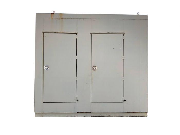Used Drop Over Diesel Generator Enclosure For Sale Wisconsin 138