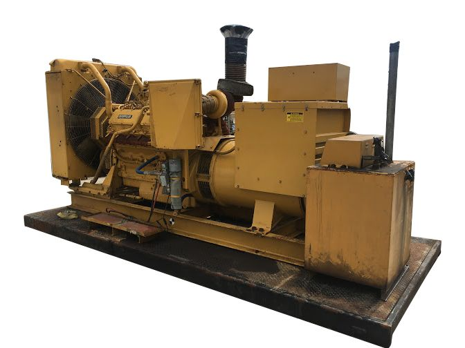 USED Diesel Generator For Sale 500 KW CAT 3412 1800 RPM 480