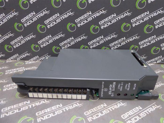 Allen Bradley 1771-ASB PLC-5 Remote I/O Adapter Module Series B FW Rev  G  Used